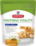 Hills Youthful Vitality 250 гр./Хиллс сухой ком  для пожилых кошек с куицей