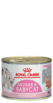 Royal Canin BABYCAT INSTINCTIVE 195 гр./Роял Канин Мазер энд Бебикэт Инстинктив консервы для котят (мусс)