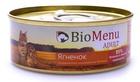BioMenu ADULT 100 гр./БиоМеню консервы для кошек паштет с ягненком
