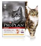 Pro Plan Adult 400 гр./Проплан сухой корм для взрослых кошек с уткой