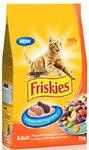 Friskies Adult 2кг./Фрискис сухой корм для взрослых кошек с курицей и овощами