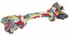 HOMEPET Игрушка для собак канат с узлами 35 см. 170 гр.