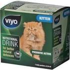 Viyo Kitten Nutritional Drink//напиток-пребиотик для котят для укрепления иммунитета 7 х 30 мл