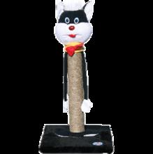 """Зооник/Когтеточка на подставке, сизаль, """"Кошка"""" 22330С"""
