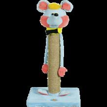 """Зооник/Когтеточка на подставке, сизаль, """"Мышь"""" 22332С"""