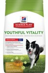 Hill`s Science Diet Youthful Vitality Adult 7+ Chicken & Rice 10 кг./Хиллс сухой корм для собак средних пород старше 7 лет
