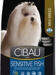 Farmina Cibau Sensitive Fish Mini 800 гр./Фармина Сибау Полнорационный и сбалансированный корм для взрослых собак мелких пород. Снижает риск развития аллергических реакций.
