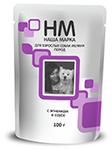 Наша Марка 100 гр./Консервы для собак мелких пород с ягненком