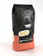 TASTY 15 кг.+1,5 кг./Сухой корм для собак с говядиной Акция