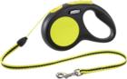 FLEXI Neon New Classic S/Поводок рулетка (до 12 кг) трос 5 м