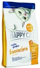 Happy Cat Sensitive Grainfree 300 гр./Хеппи Кет сухой корм для кошек с кроликом
