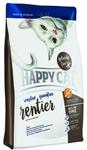 Happy Cat Sensitive Grainfree 300 гр./Хеппи Кет сухой корм для кошек с олениной