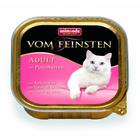 Animonda  Vom Feinsten Adult 100 гр./Анимонда консервы для кошек с сердцем индейки