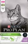 Pro Plan Sterilised 400 гр./Проплан сухой корм для поддержания здоровья стерилизованных кошек с индейкой