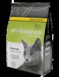 ProBalance Sensitive 400 гр./Сухой  корм  для взрослых кошек всех пород с чувствительным пищеварением, с курицей и рисом