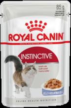 Royal Canin Instinctive Jelly 85 гр./Роял канин консервы в фольге для взрослых кошек