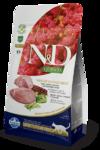 Farmina N&D Cat Quinoa Weight Management Lamb 300 гр./Фармина Полнорационный сухой корм для взрослых кошек.Ягненок, киноа, брокколи и спаржа  для контроля веса