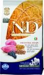 Farmina N&D Low Grain Lamb & Blueberry Adult 800 гр./Фармина сухой корм для собак Ягненок и черника мелк породы