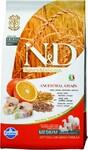 Farmina N&D Low Grain Codfish & Orange Adult 800 гр./Фармина сухой корм для собак Треска и апельсин мелк породы