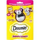 Dreamies 30 гр./Дримисиз лакомство для кошек Лакомая мышка с курицей + игрушка