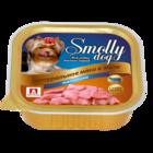 Зоогурман Smolly Dog 100 гр./Консервы для собак телятина