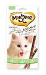 Мнямс 50 гр./10*5 гр./ Лакомые палочки для кошек утка,кролик