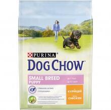 Dog Chow Small Breed Puppy Chicken 2,5 кг./Дог Чау сухой корм для щенков мелких пород с курицей