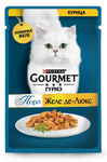 Gourmet Perle 85 гр./Гурме Перл Желе-де-Люкс Курица