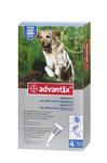 Advantix//капли для собак более 25кг от блох и клещей 4*4 мл