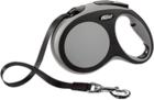 Flexi Comfort/Поводок-рулетка  (до 50 кг) 8 м  черный/серый