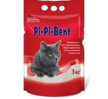Pi-Pi-Bent Classic 3 кг./Наполнитель для кошек комкующийся