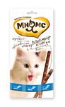 Мнямс 15 гр./3*5 гр./ Лакомые палочки для кошек форель, лосось