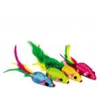Dezzie 5605273//Деззи игрушка для кошек Мыши Забава 5 см