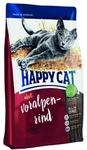 Happy Cat Adult Альпийская говядина 300 гр./Хеппи Кет сухой корм для кошек с говядиной