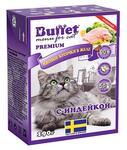 BUFFET Tetra Pak 1+1  190 г консервы для кошек мясные кусочки в желе с индейкой