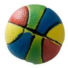 """MajorDog/ Игрушка для собак """"Мяч разноцветный"""" с пищалкой латекс 7.3 см"""