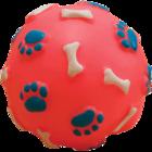 Зооник 16113/Игрушка для собак Мяч с лапками и косточками