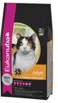 Eukanuba Cat Adult 400г//Эукануба сухой корм для кошек с курицей и печенью