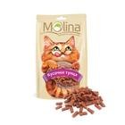 Molina 80 гр./Молина Лакомство для кошек Кусочки тунца