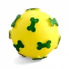 TRIOL /Игрушка для собак Мяч с косточками d60мм/73021/12101096/
