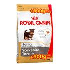 Royal Canin Yorkshire Terrier Junior 500+500 гр. гр./роял канин сухой корм для щенков породы йоркширский терьер в возрасте до 10 месяцев