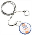 SHOW TECH металлическая шоу цепочка-кобра 65 см х 4 мм серебряная/96STE027