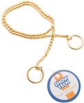 SHOW TECH металлическая шоу цепочка-кобра 65 см х 4 мм золотая/96STE028