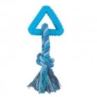 """TRIOL Игрушка для собак из ц/литой резины """"Треугольник с веревкой"""", 80/160мм/12191047/"""
